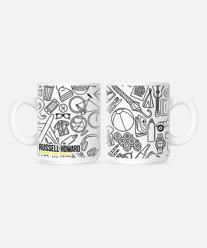 Round The World Icons Mug