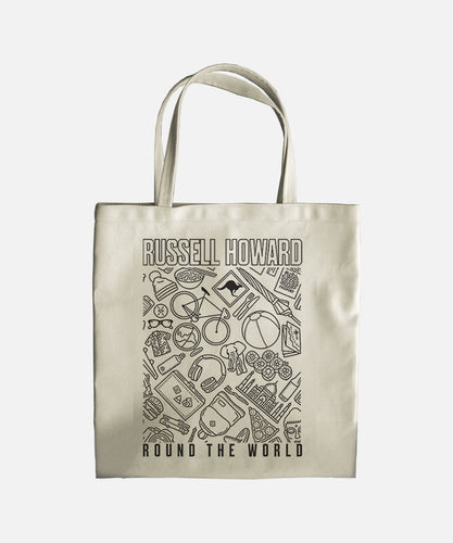Round The World Icons Tote Bag
