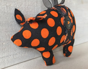Halloween pig ornament