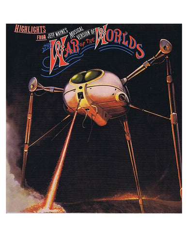 Highlights From Jeff Wayne's Musical Version Of The War Of The Worlds CD