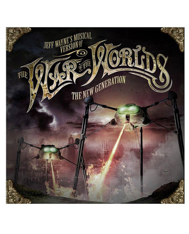 Jeff Wayne's Musical Version Of The War Of The Worlds - The New Generation CD