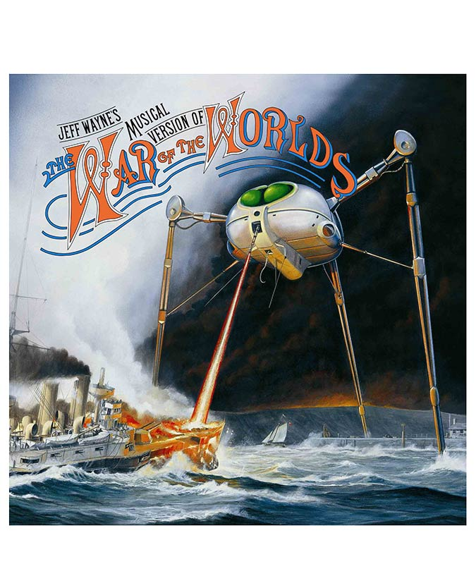 Jeff Wayne's Musical Version Of The War Of The Worlds CD