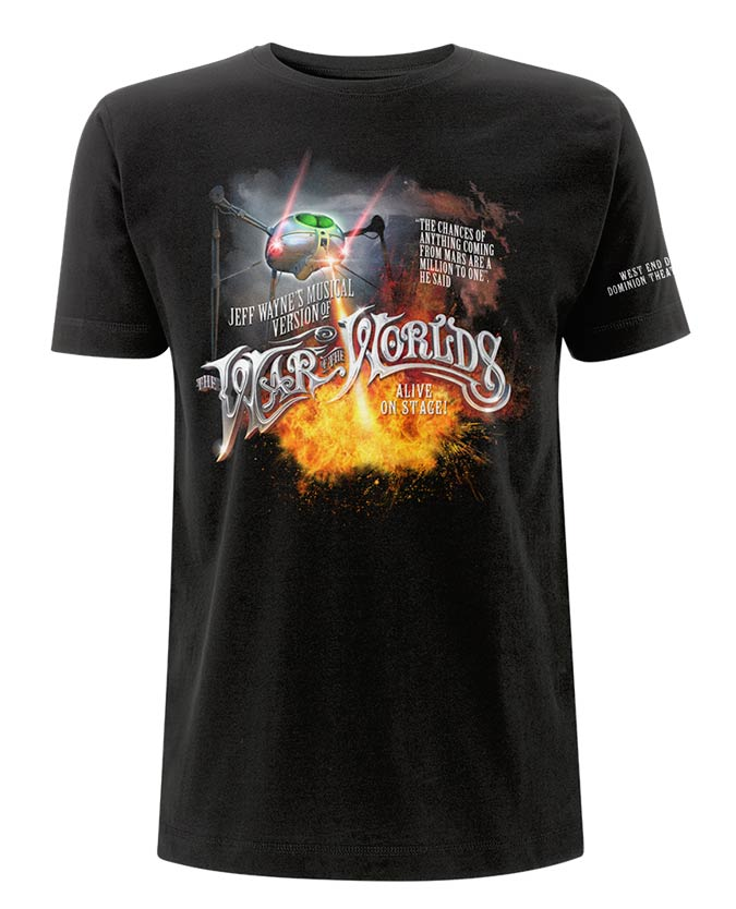 Jeff Wayne's Musical Version Of The War Of The Worlds - Tripod Fire Youth T-Shirt