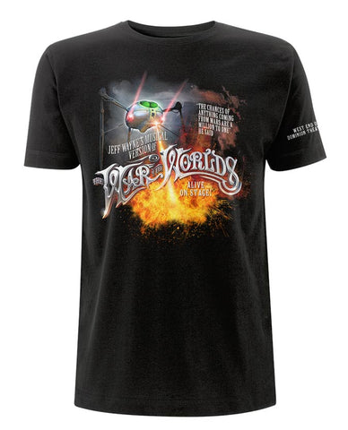 Jeff Wayne's Musical Version Of The War Of The Worlds - Tripod Fire T-Shirt