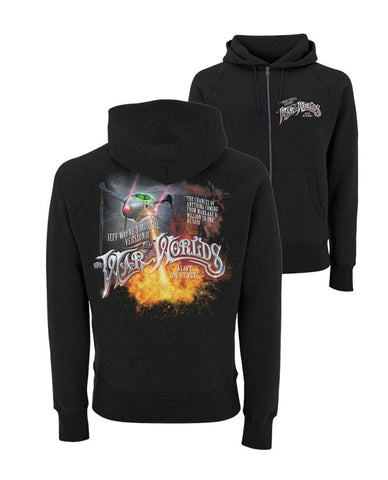 Jeff Wayne's Musical Version Of The War Of The Worlds - Tripod Fire Hoodie