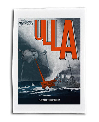 Jeff Wayne's Musical Version Of The War Of The Worlds - Ulla Farewell Tea Towel