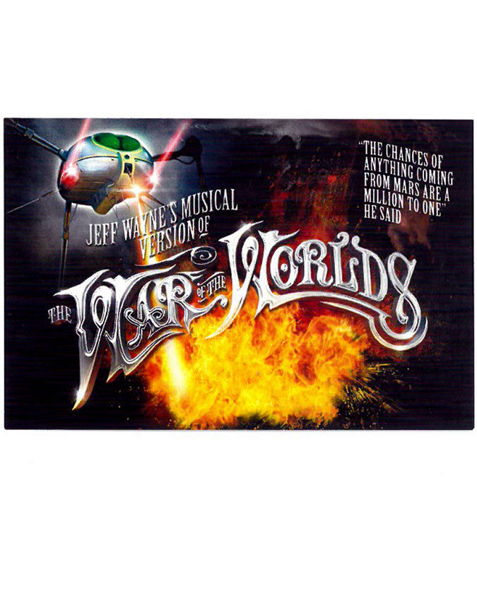 Jeff Wayne's Musical Version Of The War Of The Worlds - Fridge Magnet