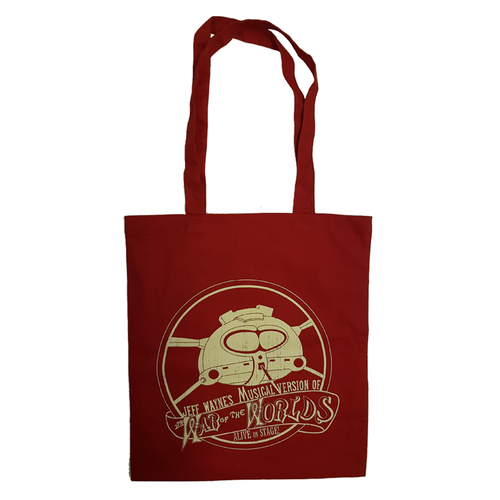 Jeff Wayne's Musical Version Of The War Of The Worlds - Red Crest Tote Bag