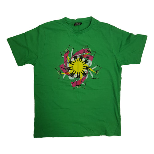 Green Kaleidoscope T-Shirt