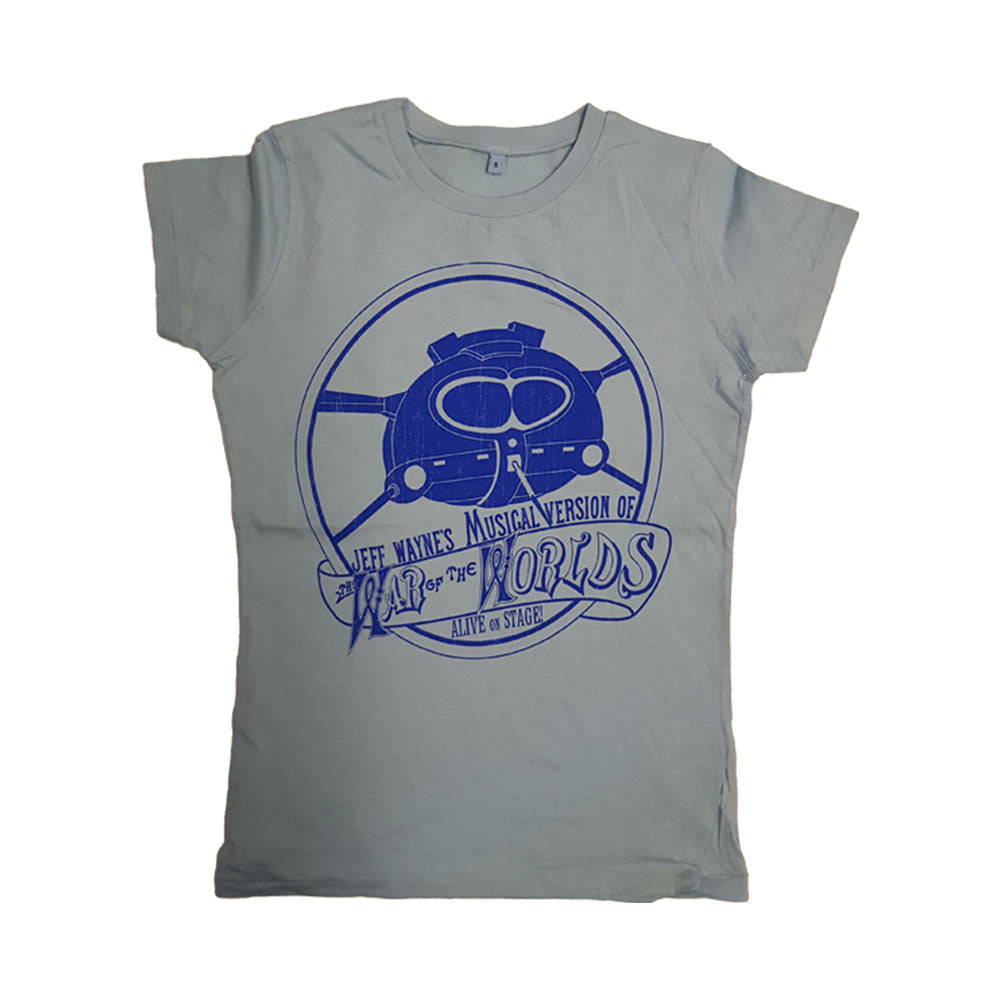 Tri-pod Crest Ladies T-Shirt