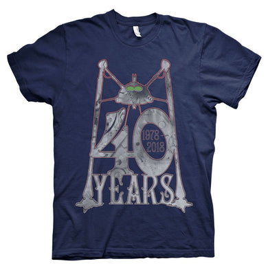 '40 Years' Men's Navy T-Shirt