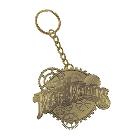 'Steampunk Cogs' Keyring