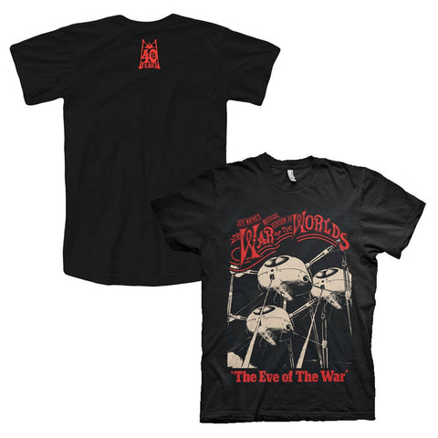 'Eve of the War' Men's Black T-Shirt