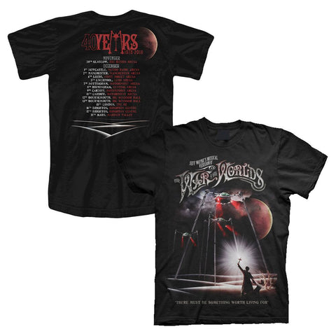 'Spirit of Man' Men's Black Tour T-Shirt