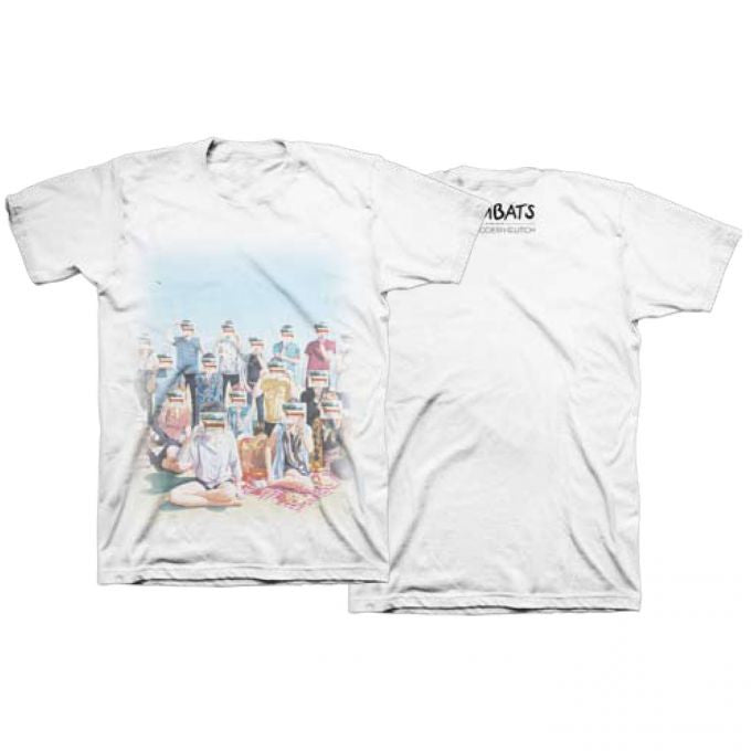 The Wombats (This Modern Glitch) White T-Shirt