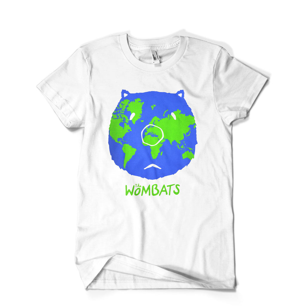 The Wombats (This Modern World) White T-Shirt