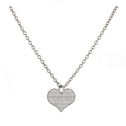 The Wombats Logo Necklace