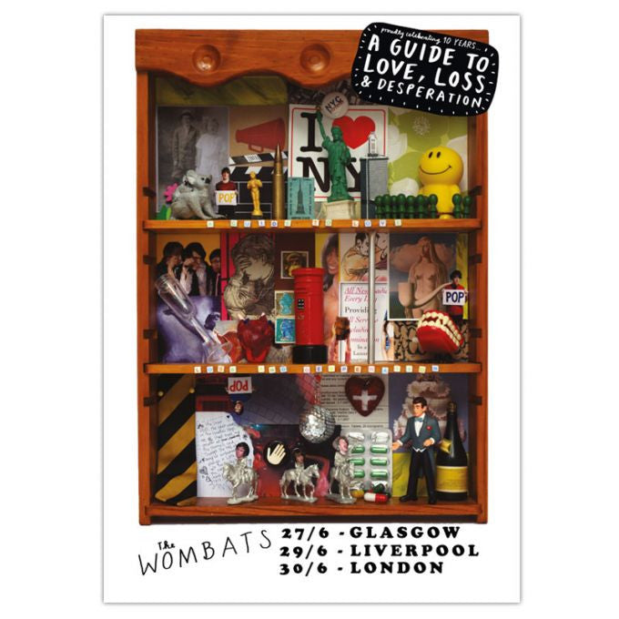 The Wombats (10th Anniversary Tour) Poster