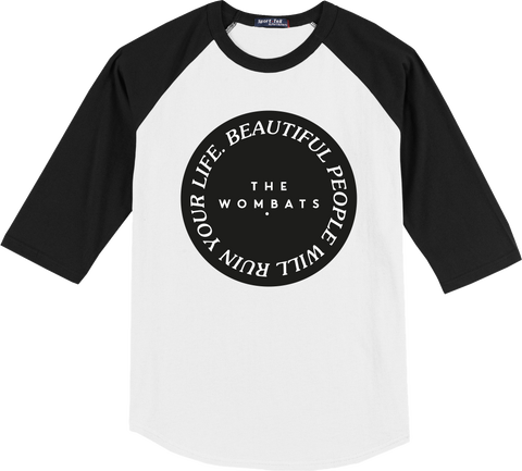The Wombats (Beautiful People Will Ruin Your Life) Baseball Shirt