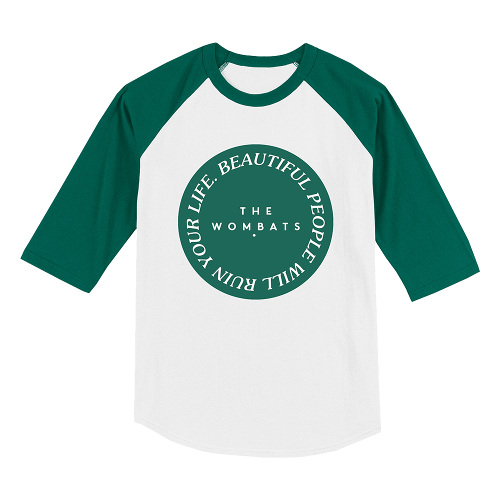Beautiful People Crest Baseball - White/Green