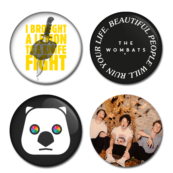 2019 Tour 4 Badge Set