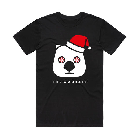 Father Wombat Black T-shirt