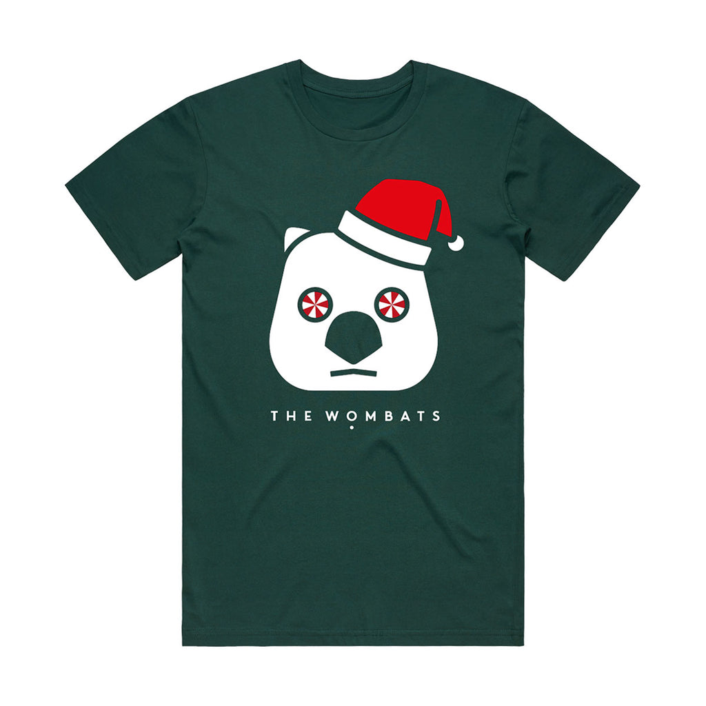 Father Wombat - Bottle Green T-shirt