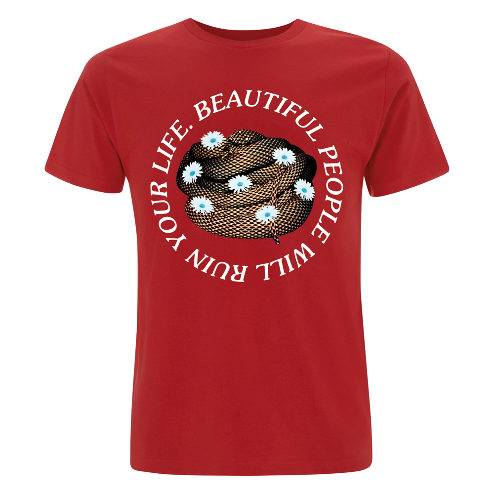 Beautiful People Tour Red T-Shirt