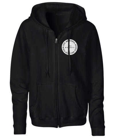 The Wombats (Beautiful People Will Ruin Your Life) Black Zipped Hoodie
