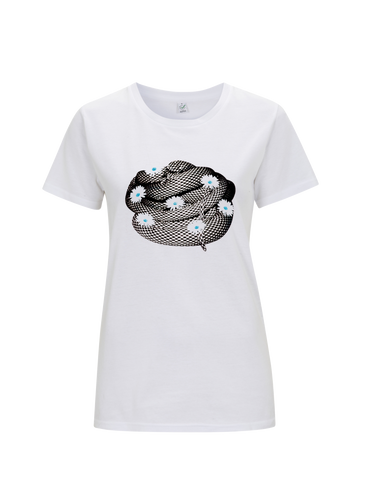 The Wombats (Mono Snake) White Ladies T-Shirt