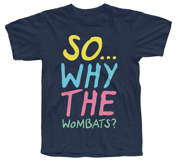 The Wombats (So why The Wombats) Navy T-Shirt