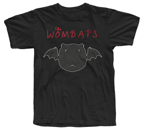The Wombats (Bat) Ltd Edition Halloween T-Shirt