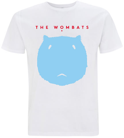 The Wombats (Wombat) White T-Shirt