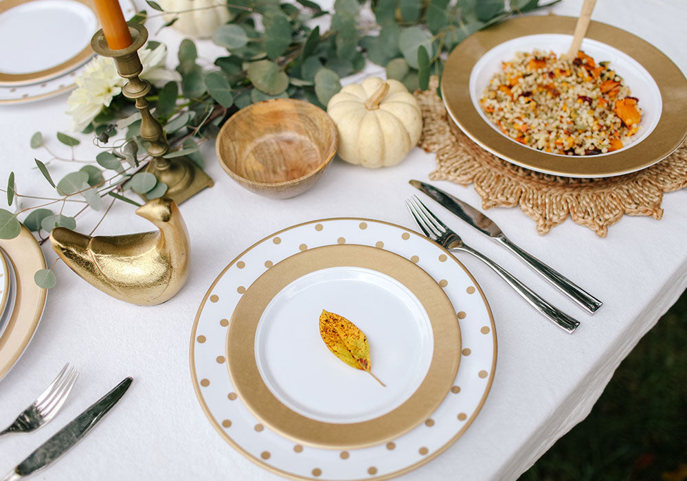 Friendsgiving Fall Table Ideas | Moonbeam