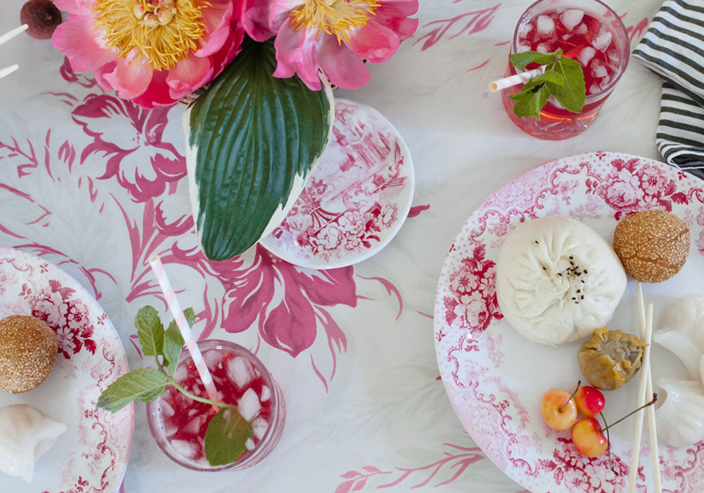 Dim Sum Friendsgiving Party | Q Squared Melamine