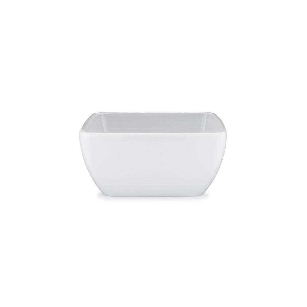 Diamond White Melamine Square Cereal Bowl