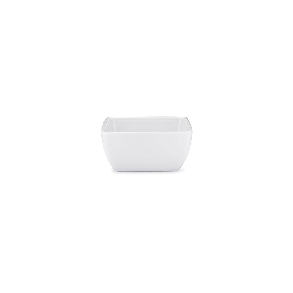 Diamond White Melamine Square Dip Bowl