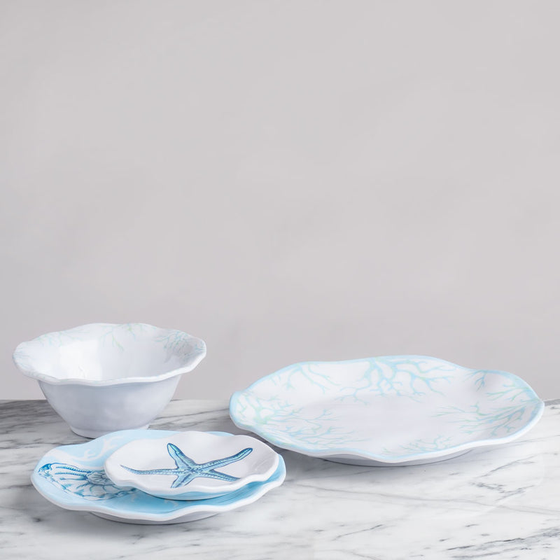 Captiva Melamine 12pc Dinnerware Set