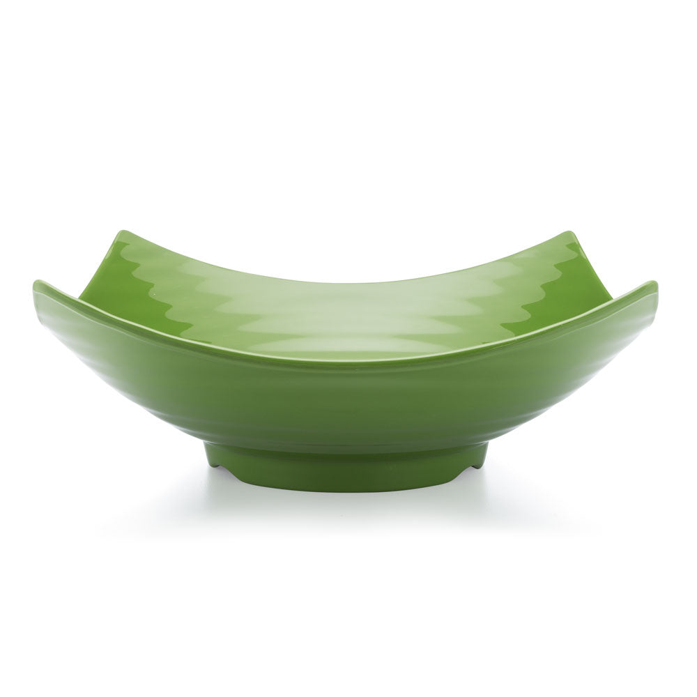 Zen Green Melamine Serving Bowl