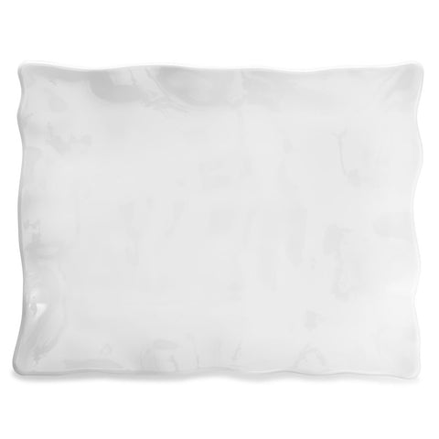 Ruffle Rectangle Large Platter