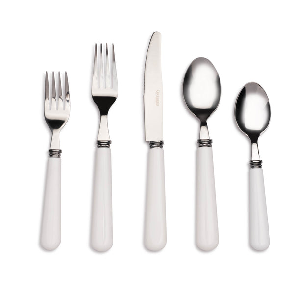 Provence White 20pc Flatware Set