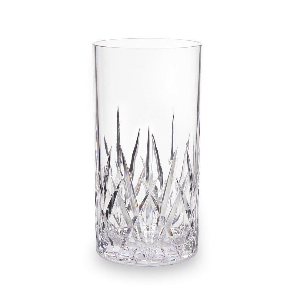 Aurora Crystal Clear Tritan Acrylic Highball Glass Tumbler