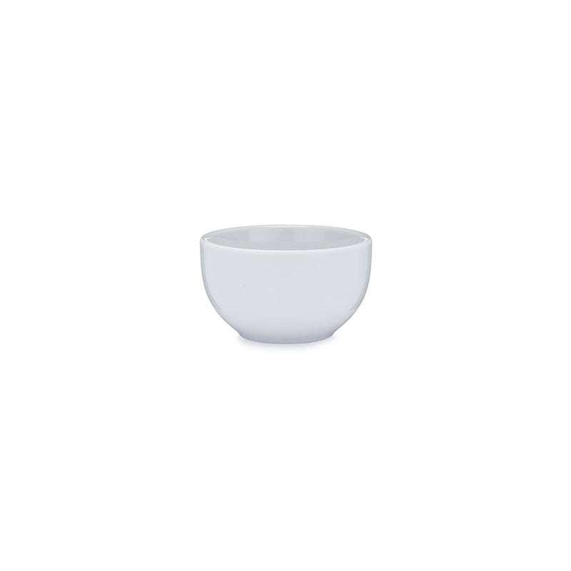 Diamond White Melamine Round Dip Bowl