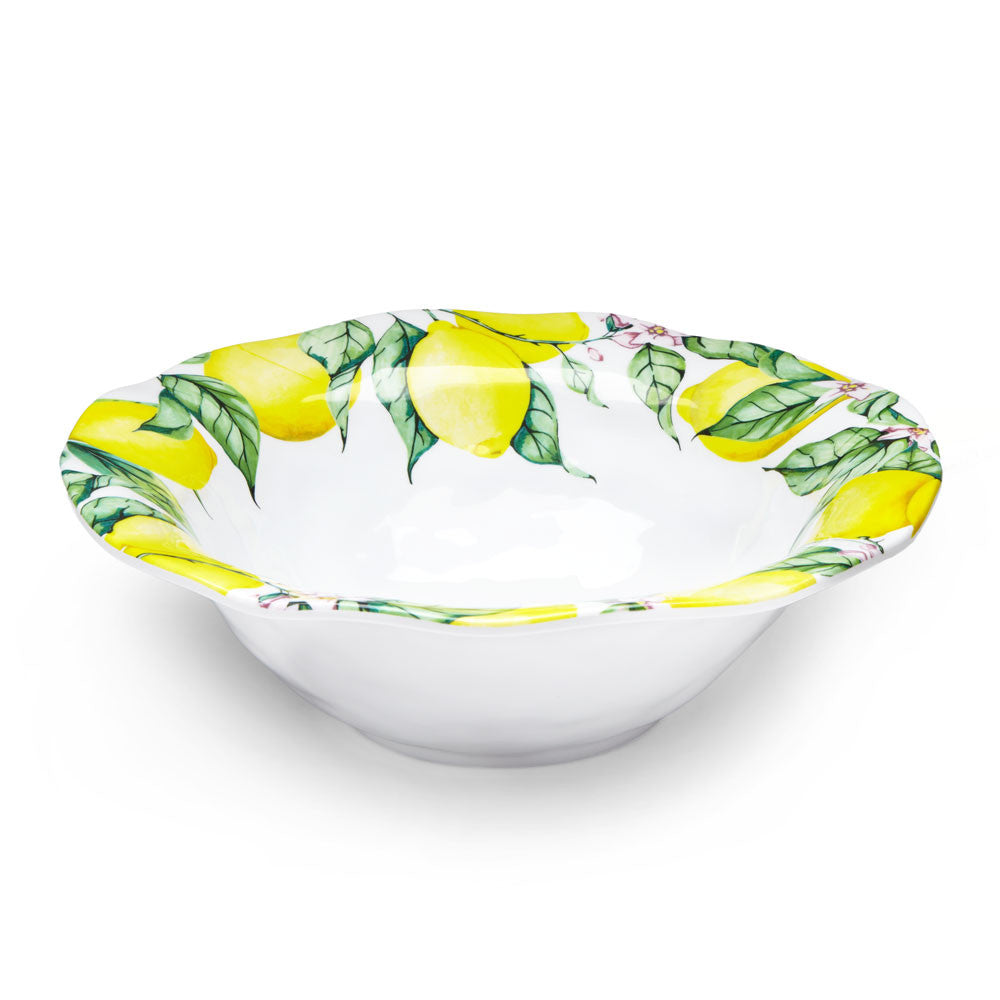 Limonata Melamine Serving Bowl