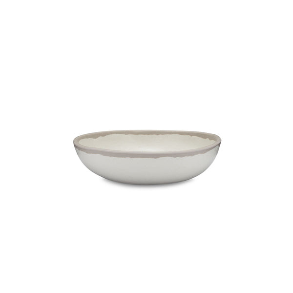 Potter Stone Gray Melaboo™ Cereal Bowl