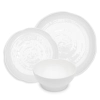 Pearl Melamine 12pc Dinnerware Set