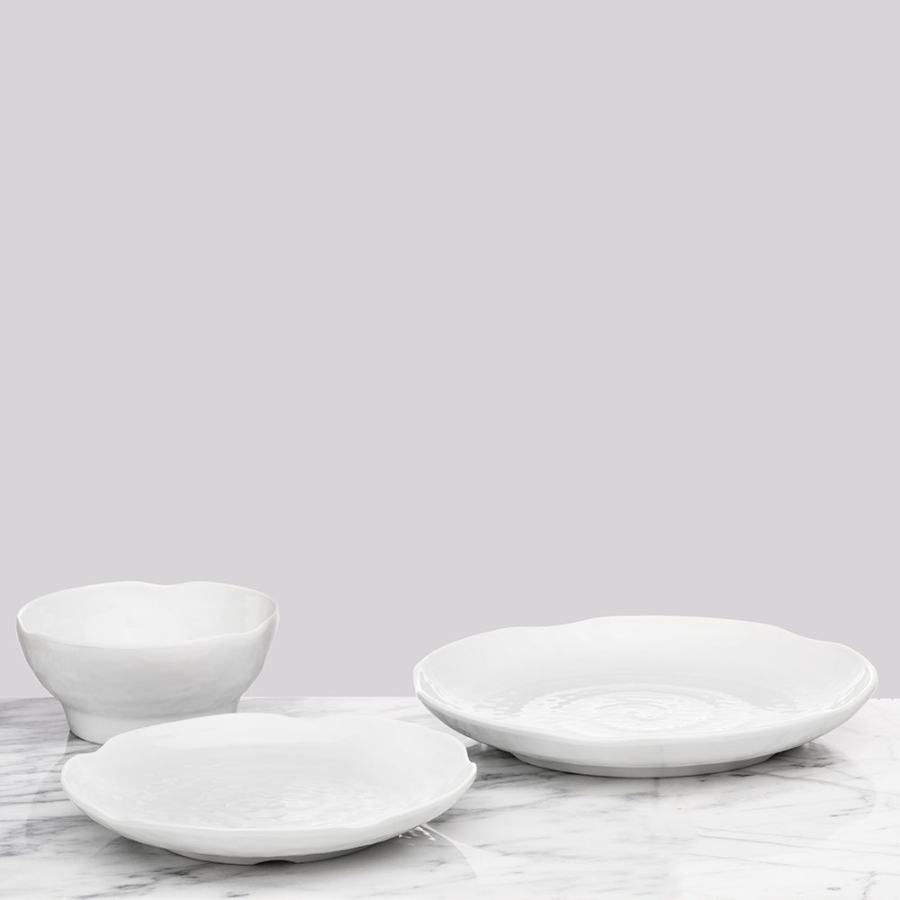 Pearl Melamine Serving Bowl