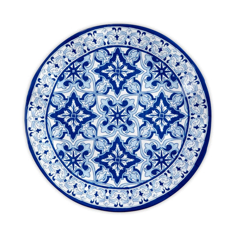Talavera in Azul Blue Melamine Dinner Plate  sc 1 st  Q Squared & Melamine Plates: Find Melamine Dishes and Dinner Plates u2013 Q Squared