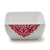 Diamond Red Melamine Square Serving Bowl