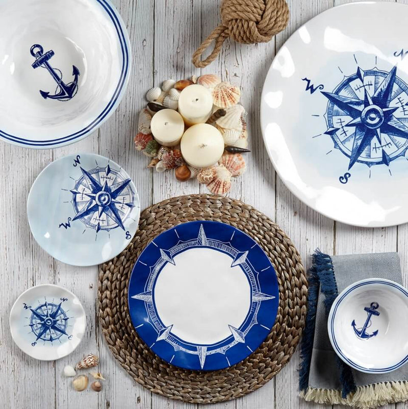 Portsmouth Melamine Sail Away Coasters (Set of 4)